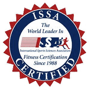 International Sports Sciences Association (ISSA) Certified Seal