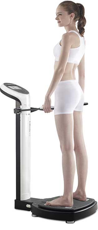 Picture of Inbody 570 Body Scanner used in Before and Macro Nutrition Coaching