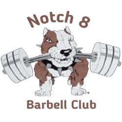 Notch 8 Barbell Club Logo